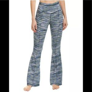 NWT Free People On It Flare Active Pant Blue M/8